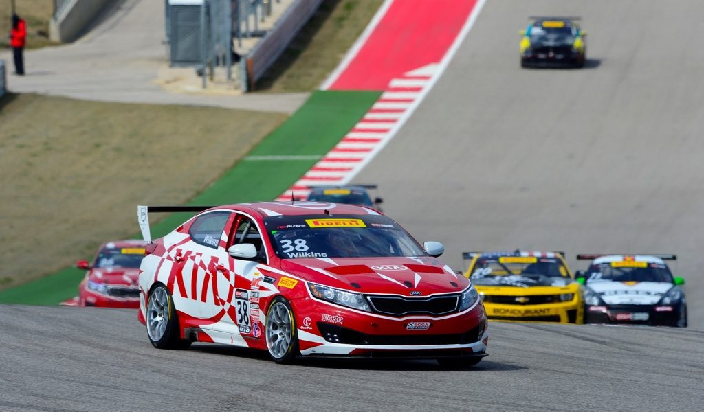 KIA RACING STARTS PIRELLI WORLD CHALLENGE GTS-CLASS TITLE DEFENSE ATOP PODIUM IN SEASON OPENER AT CIRCUIT OF THE AMERICAS
